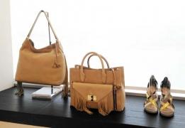 dvf spring 2016 look_handbag and heels