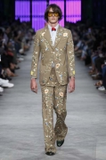 Gucci Men's Spring Summer 2016 Collection Look 03_Nick