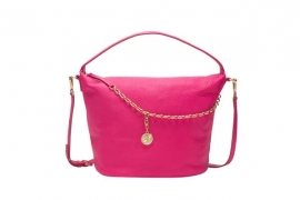 juicy couture spring 2016   FAIRFAX CHARM LG CROSSBODY FUSCHIA 6011 HKD 3490