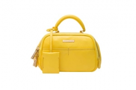juicy couture spring 2016   JET-SET JUICY SATCHEL YELLOW 7005 HKD 2490