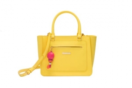juicy couture spring 2016  LARCHMONT SATCHEL YELLOW 7005 HKD 2790