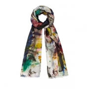 PAF486CS148F4_9003 Allover Print Scarf HKD2,400