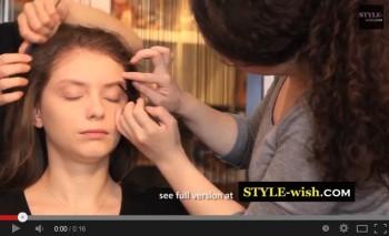 ahna professional makeup artist MUA demo tutorial, x'mas christmas party seasonal