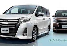 Toyota Noah family wonderland