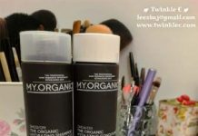 my.organics hydrating hair shampoo