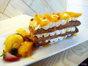 joyful dessert house mango napoleon