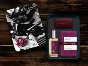 atelier cologne gift set_choose own color leather case