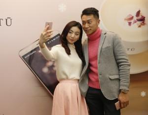HUAWEI X HABITU mate s rose gold venus chow smartphone (5)
