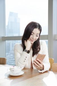 HUAWEI X HABITU mate s rose gold venus chow smartphone (6)