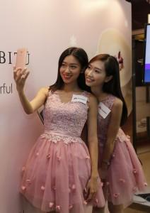 HUAWEI X HABITU mate s rose gold venus chow smartphone (9)