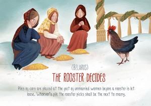 belarus rooster decides christmas