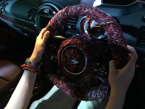 mini clubman bmw juno mak hk car burgundy silver leather (28)