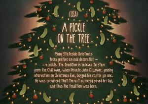 usa pickle of the tree christmas