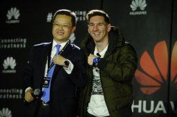 huawei 華為委任美斯成為全球品牌大使 2