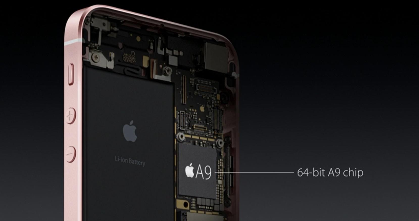 iphone se iphone 6 feature apple A9 cpu smartphone