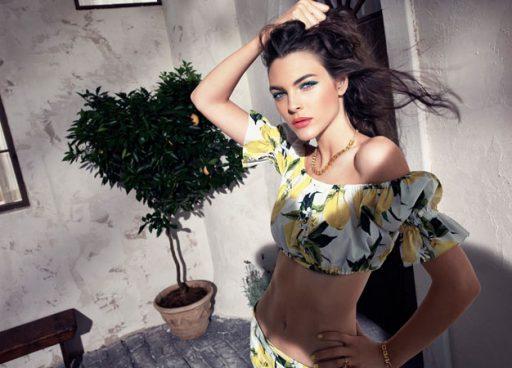D&G_Summer in Italy_model PR Shot