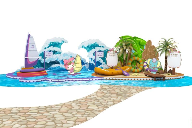 樂富廣場_My Melody全城「綠」運會_Zone B_「My Melody綠運場」-the-link-my-melody-lok-fu-be-a-green-team-member-sanrio-mall-activities-hk-summer