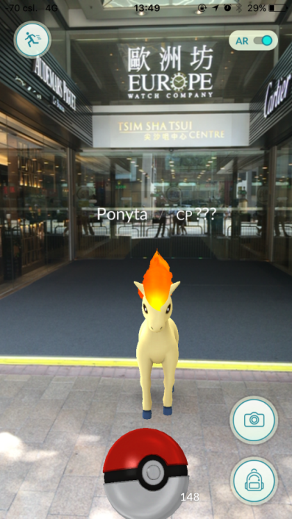 TST and Empire Centre - Ponyta