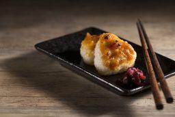 Yayakiya - Grilled Rice Ball with Pork and Miso