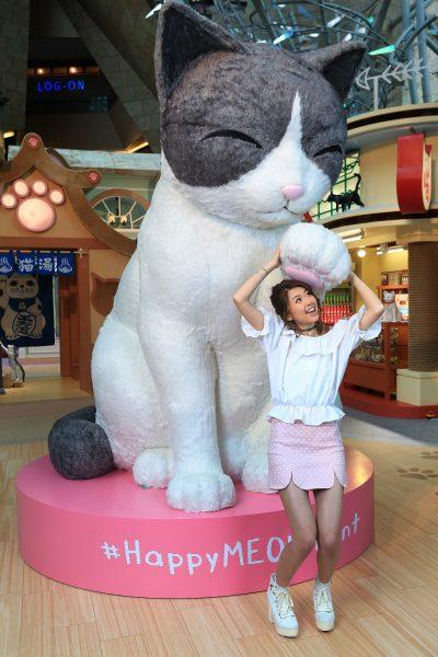 朗豪坊-HappyMEOWment-喵民遊樂園-Langham-place-mk-hk-mall-summer-cat-cafe-meowshop-cat-satoruko-higemanju (2)