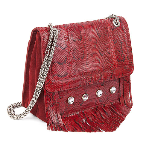 claudie pierlot_Le Marjan rouge_shoulder bag_2
