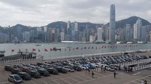 bmw-electrifying-parade-i3-i8-car-formulae-evillage-medical-car-icar-hk-central-harbourcity-save-energy-2