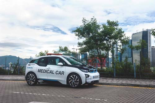bmw-electrifying-parade-i3-i8-car-formulae-evillage-medical-car-icar-hk-central-harbourcity-save-energy-3