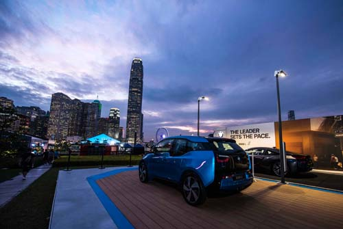 bmw-electrifying-parade-i3-i8-car-formulae-evillage-medical-car-icar-hk-central-harbourcity-save-energy-4