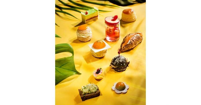 Tropical Afternoon Tea by World Pastry Champion Franck Michel