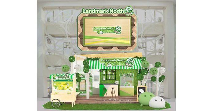 全球首個互動數碼 夏日 O2O WeChat Cafe