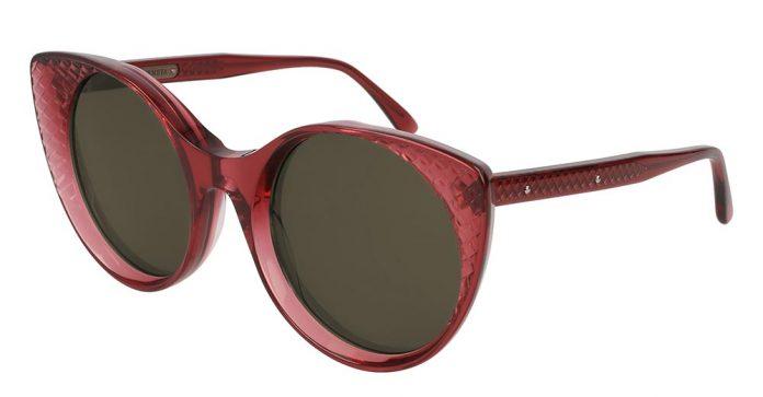Bottega Veneta 秋冬17時裝展 立體編織圖案太陽眼鏡