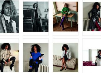 topshop fashion models