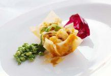 米芝蓮晚宴上海菜代表餐廳迷·上海呈獻創意食品蟹粉蝦仁配酥皮