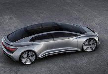 Audi exhibits Aicon at 2017 frankfurt car show