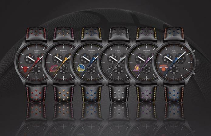 天梭表 NBA Chrono XL 特別版腕錶
