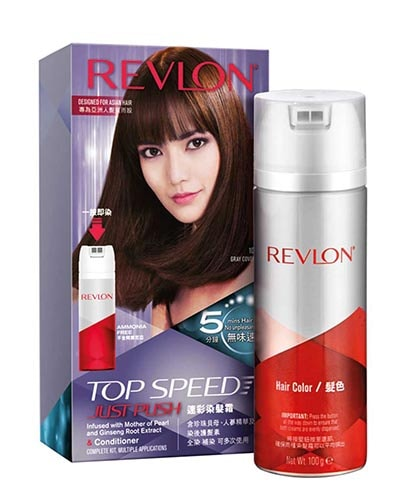 Revlon spray 染髮