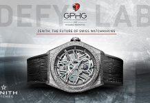 Defy Lab於2017年日內瓦高級鐘錶大賞勇奪創新腕錶大獎