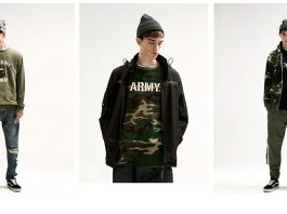 army ranger collection, mens fashion fw17