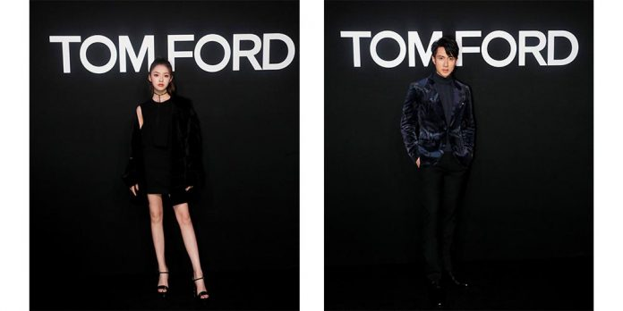 吳尊 林允 tom ford fashion
