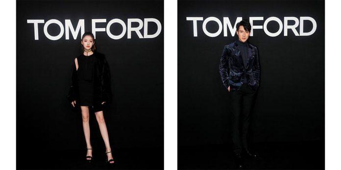 吳尊 林允 tom ford fashion