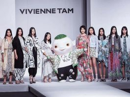 vivienne tam at china fashion award
