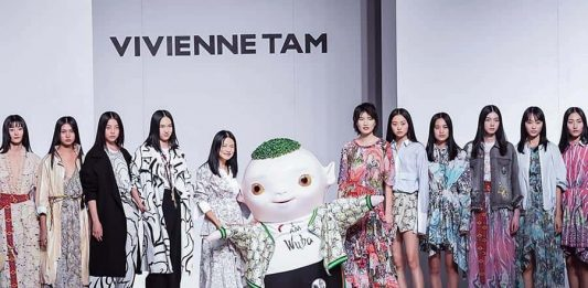 vivienne tam at china fashion award