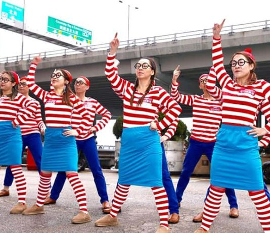 new town plaza where's wally dance performance 2018 cny