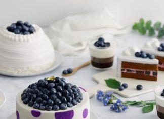 maxims blueberry cake