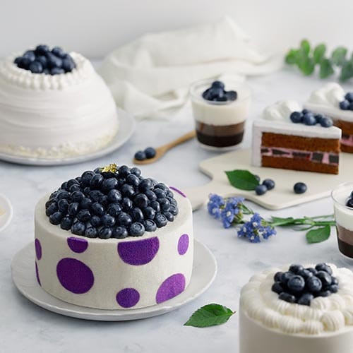 maxims blueberry cake