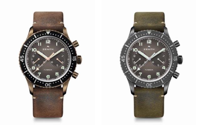 TIPO CP-2 飛返計時腕錶
