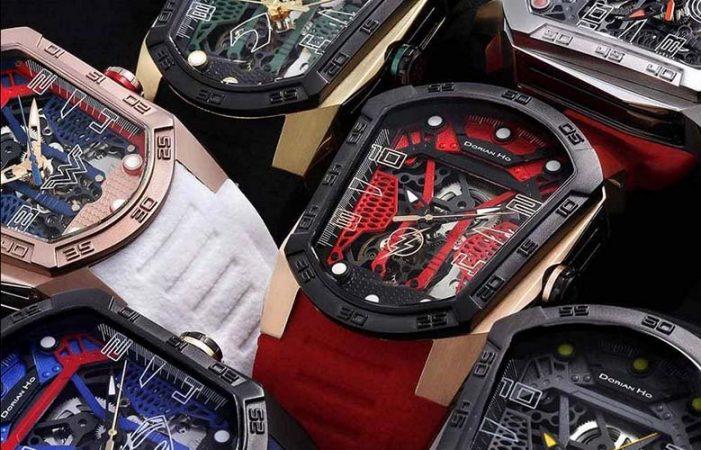 陀飛輪品牌 Phantoms 聯乘時裝設計師何國鉦 正義聯盟別注手錶