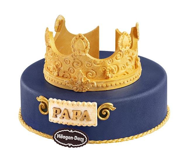 haagen dazs 父親節雪糕蛋糕