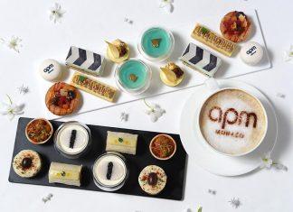香港洲際酒店 x APM Monaco joie de vivre 下午茶