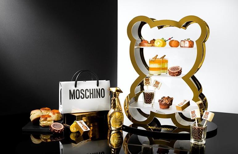 香港麗思卡爾頓酒店推出MOSCHINO下午茶